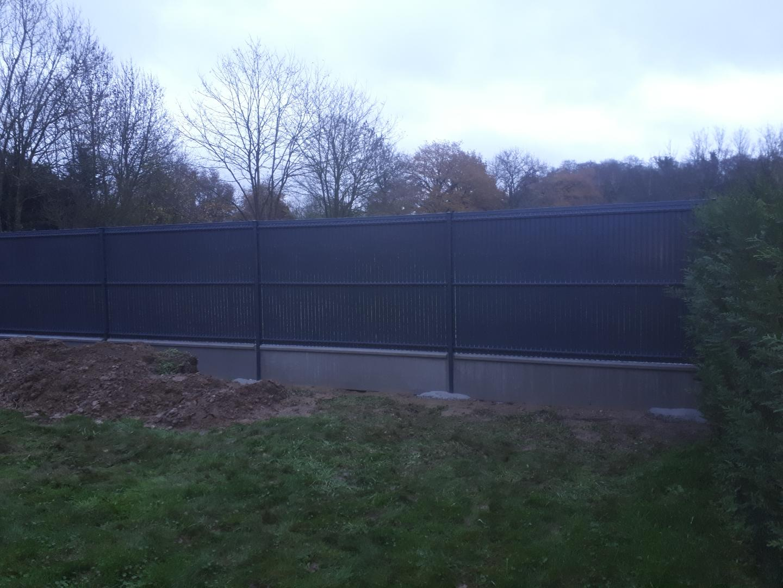 clôtures rigides et occultantes